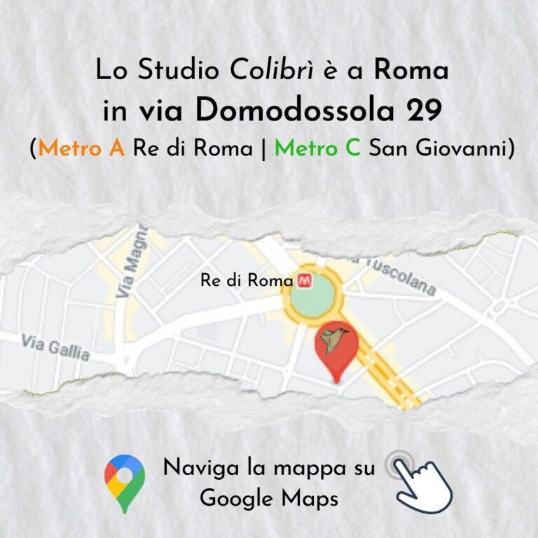Colibrì | Contatti | Roma